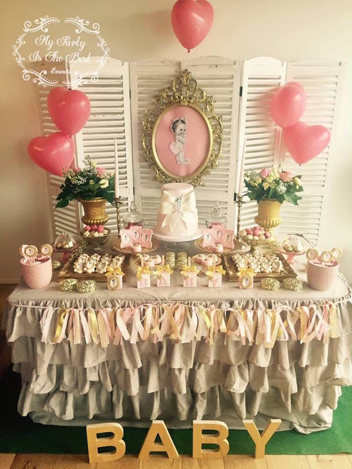 kara s party ideas vintage baby doll baby shower kara s party ideas