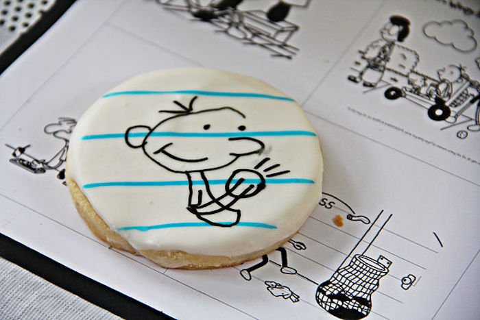 "Cookie from a ""Diary of a Wimpy Kid"" Party on KARA'S PARTY IDEAS 