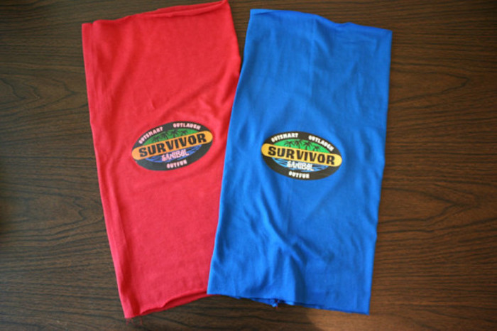 "Survivor buffs from a ""Survivor"" Themed Summer Party on Kara's Party Ideas 