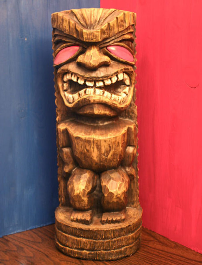 "Totem from a ""Survivor"" Themed Summer Party on Kara's Party Ideas 