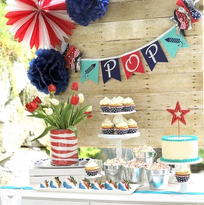 """Sweet Liberty"" July 4th Celebration on Kara's Party Ideas | KarasPartyIdeas.com (10)"