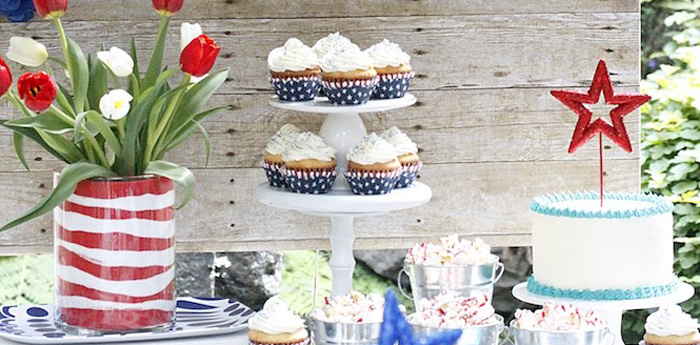 """Sweet Liberty"" July 4th Celebration on Kara's Party Ideas 