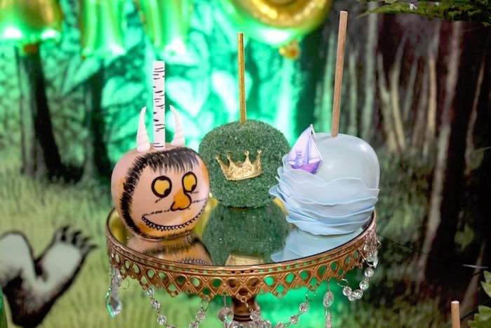 """Wild Thing cake balls from a """"Where the Wild Things Are"""" Inspired Baby Shower via Kara's Party Ideas 