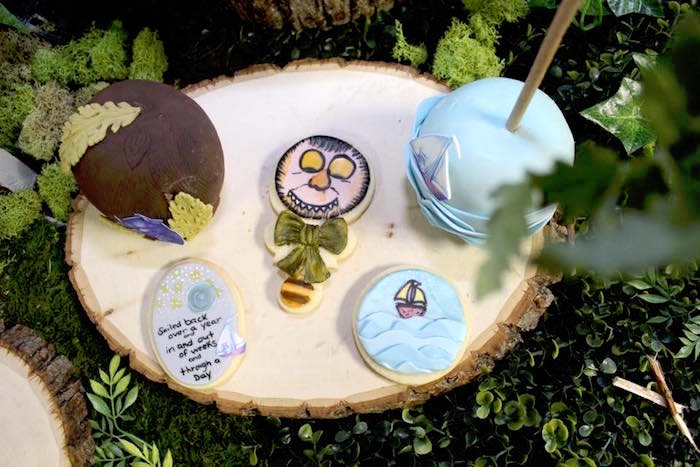 "Cookies from a ""Where the Wild Things Are"" Inspired Baby Shower via Kara's Party Ideas 