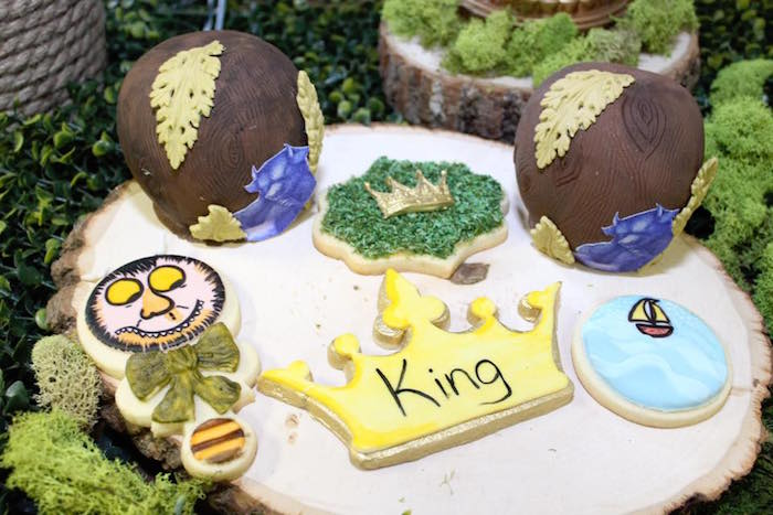 """Where the Wild Things Are"" Inspired Baby Shower via Kara's Party Ideas 