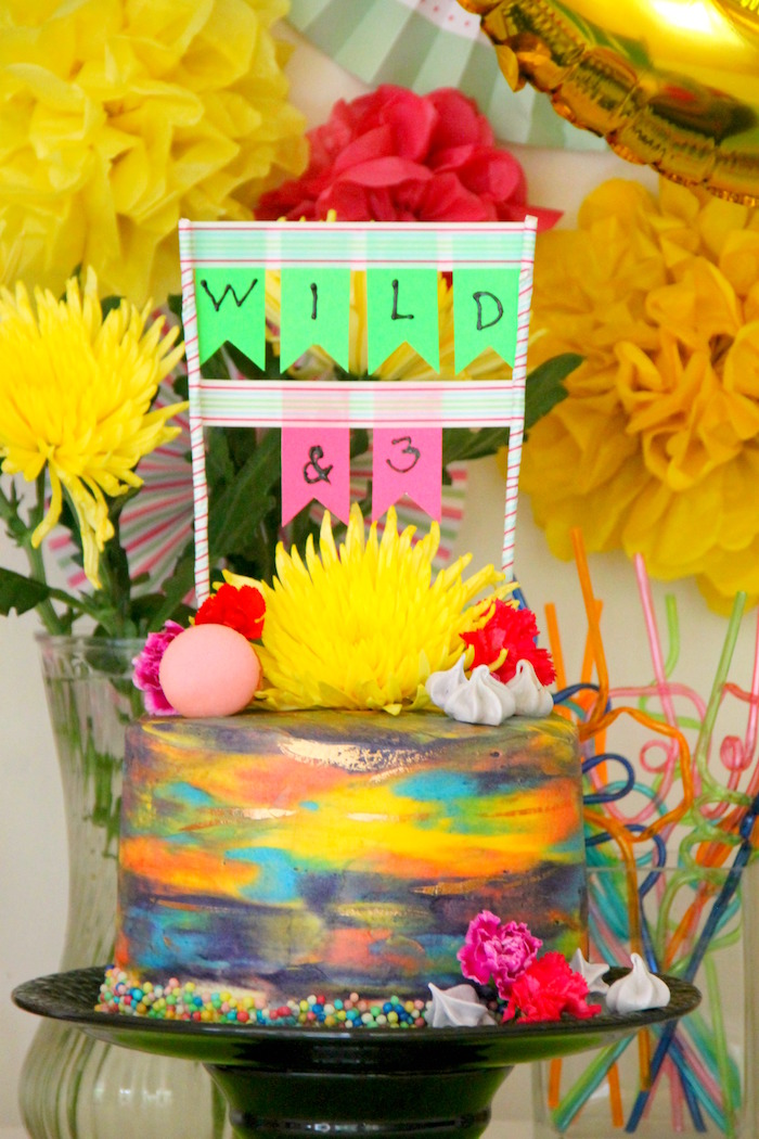 Karas Party Ideas Wild Three 3rd Birthday Party