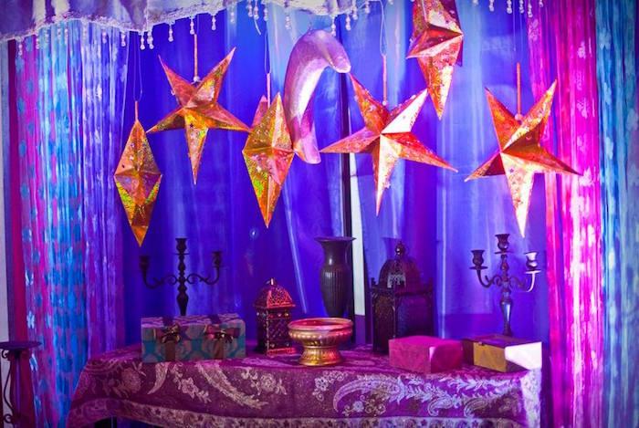 Arabian Nights Birthday Party on Kara's Party Ideas   KarasPartyIdeas.com (20)