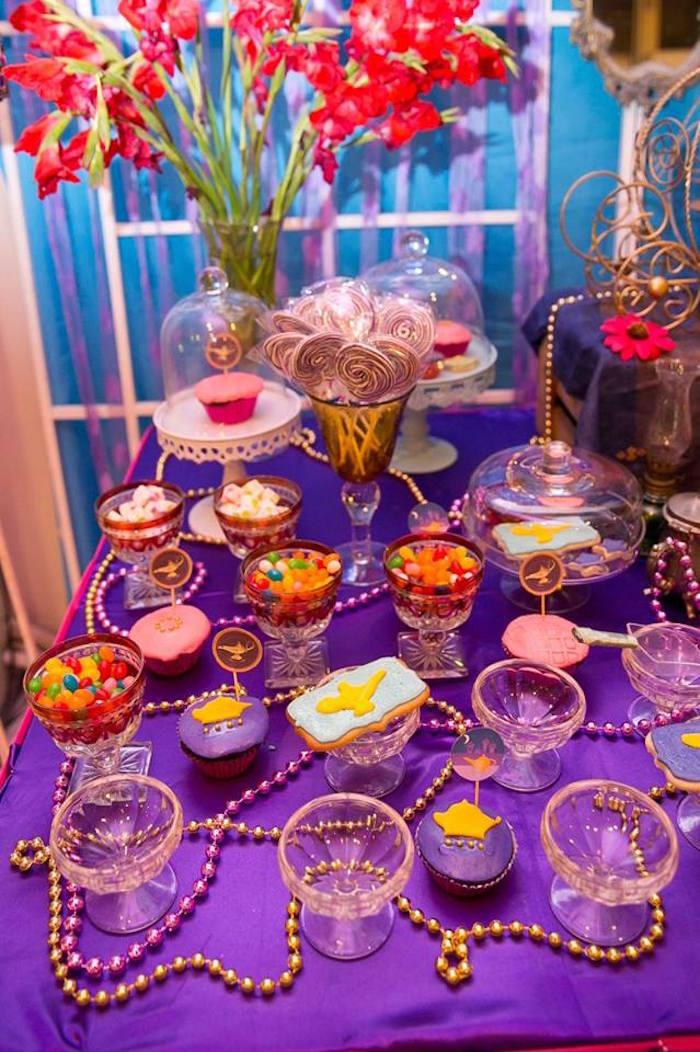 Arabian Nights Birthday Party on Kara's Party Ideas   KarasPartyIdeas.com (19)