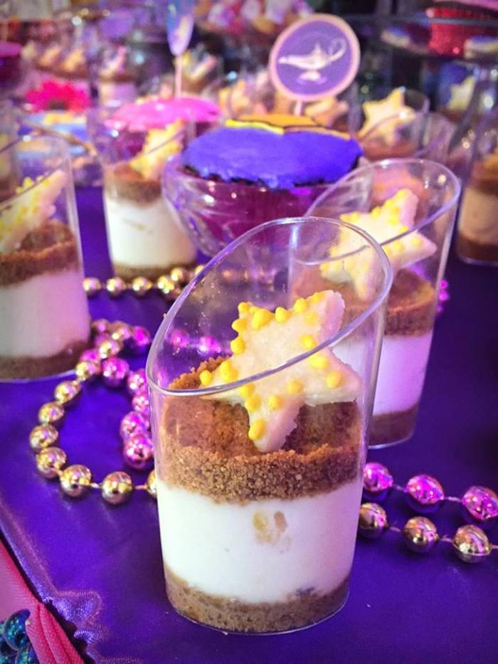 Arabian dessert cups from an Arabian Nights Birthday Party on Kara's Party Ideas   KarasPartyIdeas.com (6)