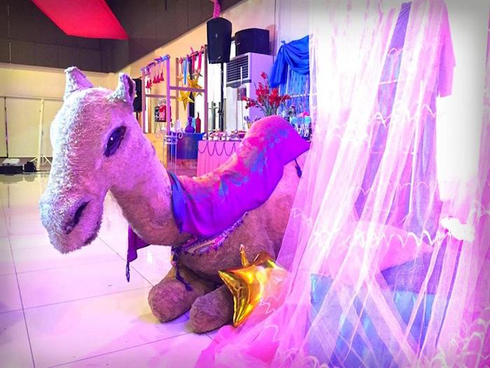 Camel from an Arabian Nights Birthday Party on Kara's Party Ideas   KarasPartyIdeas.com (23)