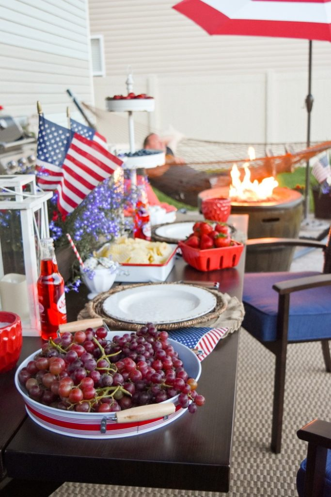 4Th Of July Backyard Party Ideas kara's party ideas 4th of july backyard patio barbeque | kara's