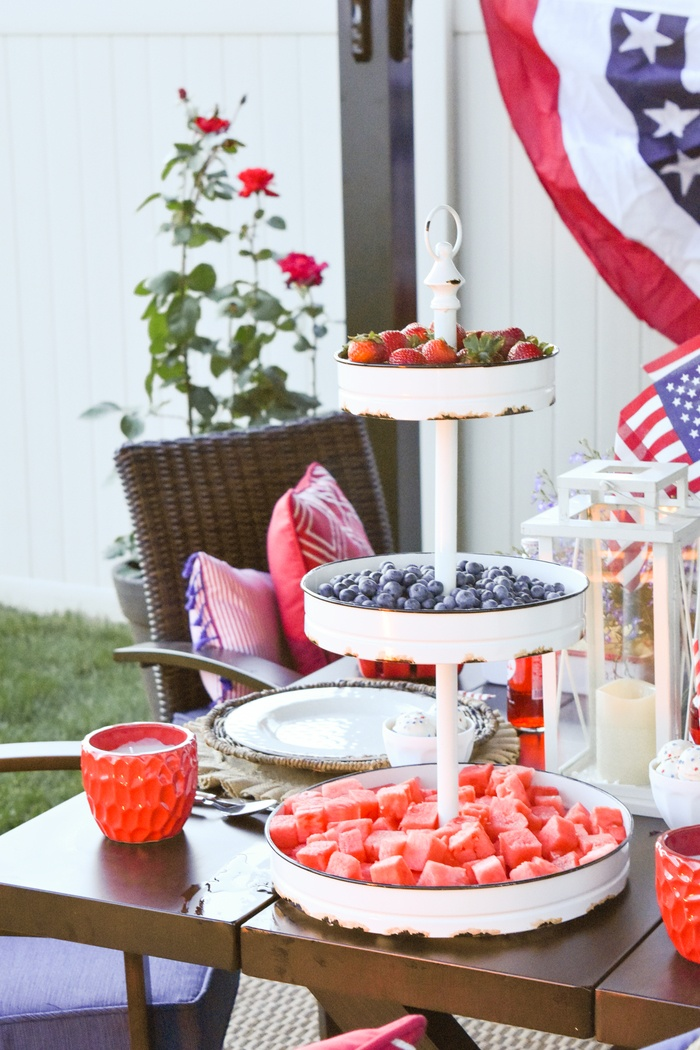 party ideas 4th of july backyard patio barbeque kara 39 s party ideas
