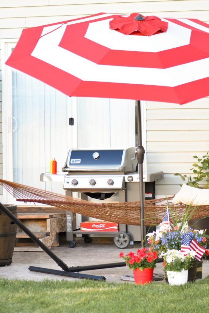 Kara S Party Ideas 4th Of July Backyard Patio Barbeque