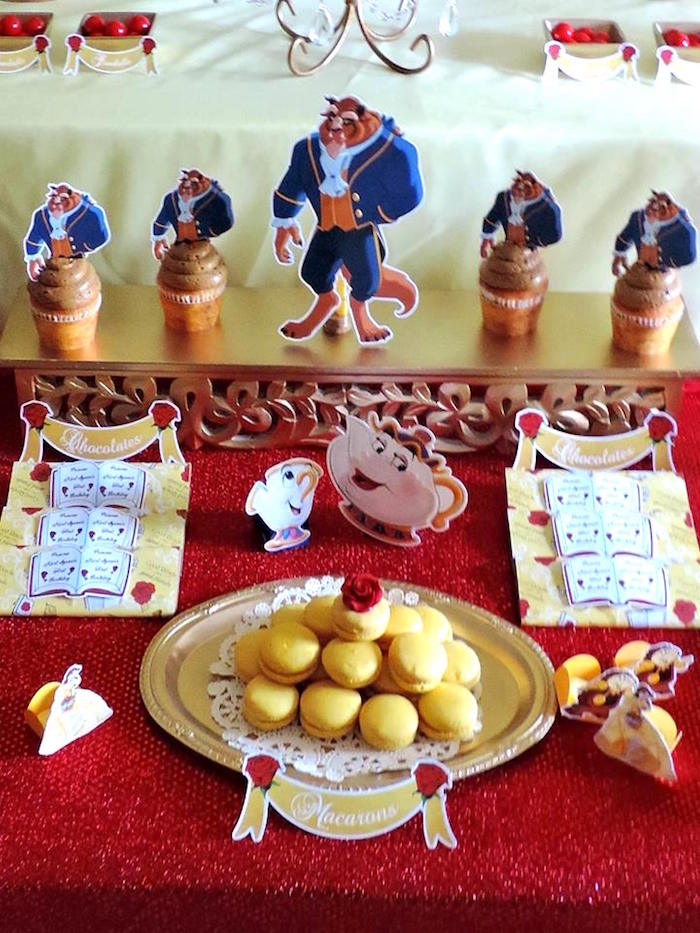 Beauty And The Beast Birthday Party Food Ideas