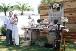 Boho Rustic Chic Engagement Party on Kara's Party Ideas | KarasPartyIdeas.com (23)