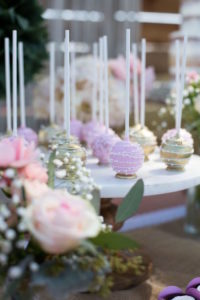Cake pops from a Boho Rustic Chic Engagement Party on Kara's Party Ideas | KarasPartyIdeas.com (11)