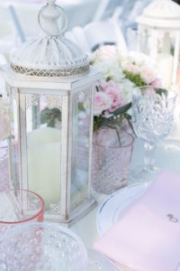 Chic lantern from a Boho Rustic Chic Engagement Party on Kara's Party Ideas | KarasPartyIdeas.com (38)