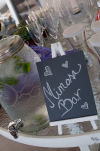 Mimosa Bar chalkboard sign from a Boho Rustic Chic Engagement Party on Kara's Party Ideas | KarasPartyIdeas.com (36)