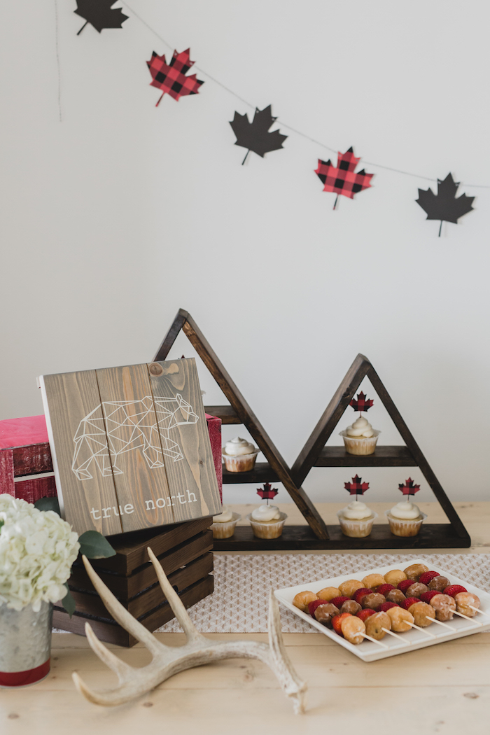 Dessert table detailing from a Canada Day Celebration on Kara's Party Ideas | KarasPartyIdeas.com (14)