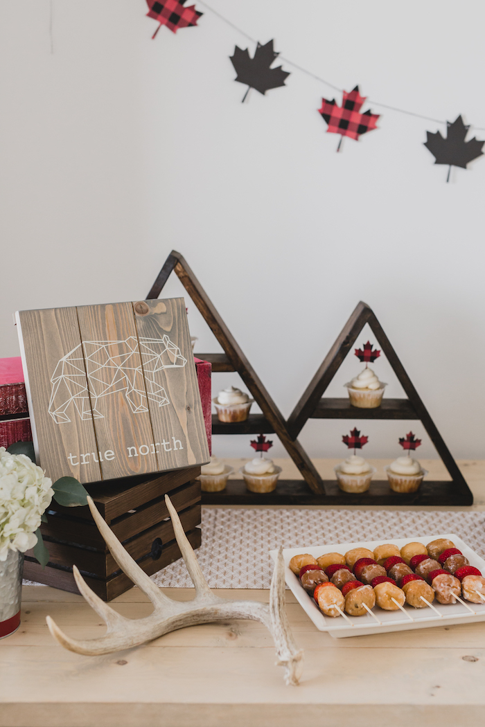 Dessert table detail from a Canada Day Celebration on Kara's Party Ideas | KarasPartyIdeas.com (31)