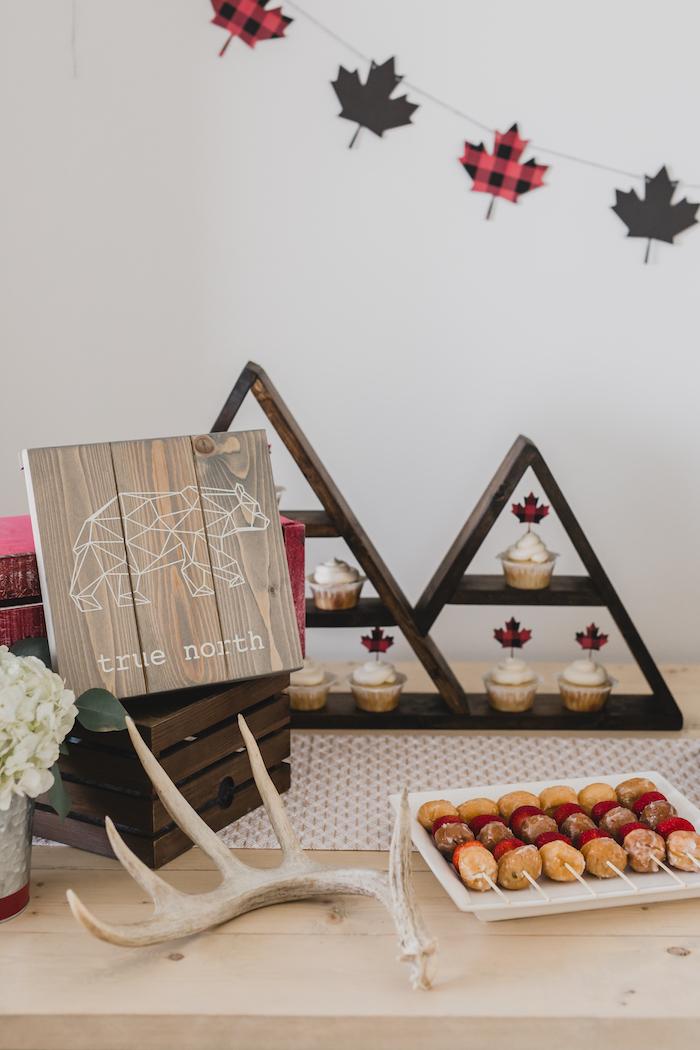 Dessert table detail from a Canada Day Celebration on Kara's Party Ideas | KarasPartyIdeas.com (31)