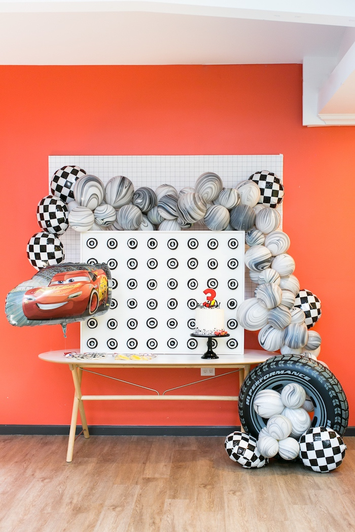 Cars 3 Birthday Party on Kara's Party Ideas | KarasPartyIdeas.com (8)