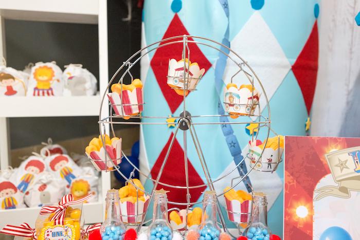Peanut cups from a Circus Birthday Party on Kara's Party Ideas | KarasPartyIdeas.com (14)