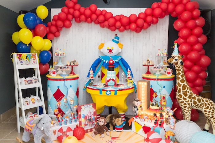 Circus Birthday Party on Kara's Party Ideas | KarasPartyIdeas.com (9)