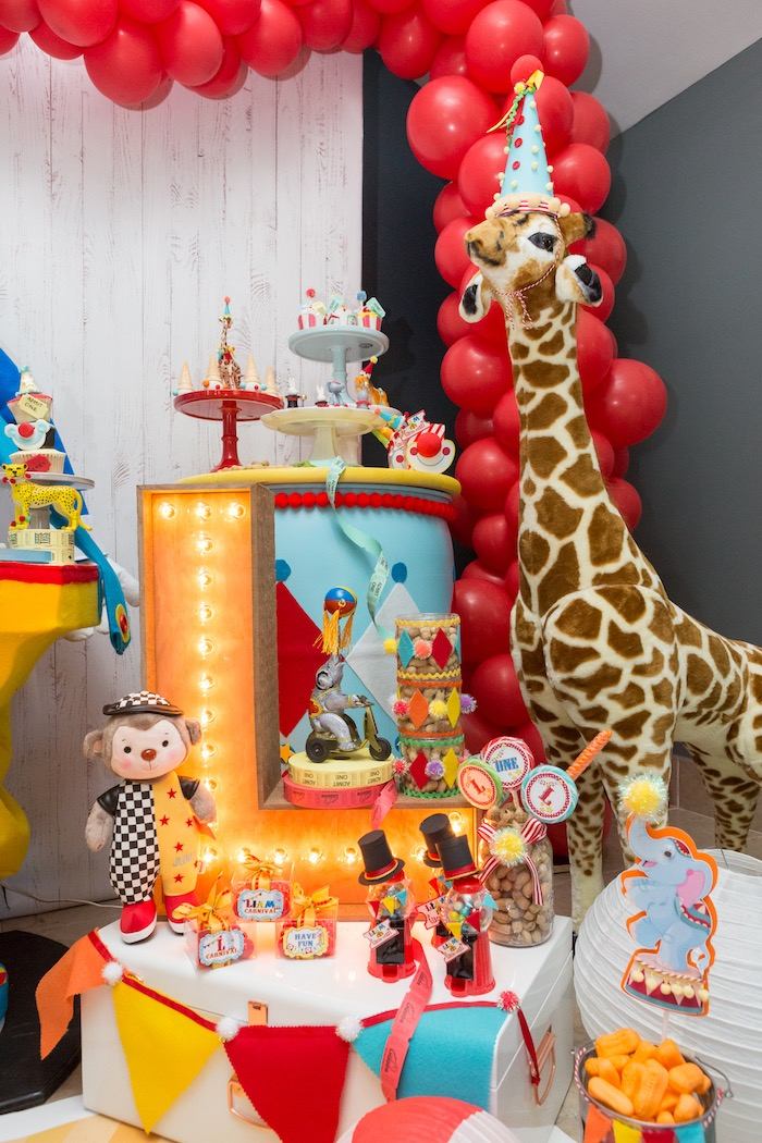 Circus Birthday Party on Kara's Party Ideas | KarasPartyIdeas.com (8)