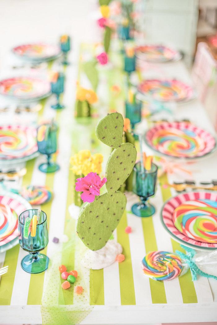 kara u0026 39 s party ideas cactus  u0026 candy summer soiree