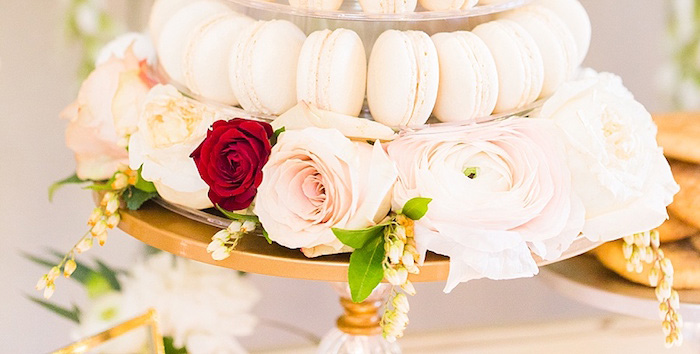 Elegant Spring Anniversary Party on Kara's Party Ideas | KarasPartyIdeas.com (4)
