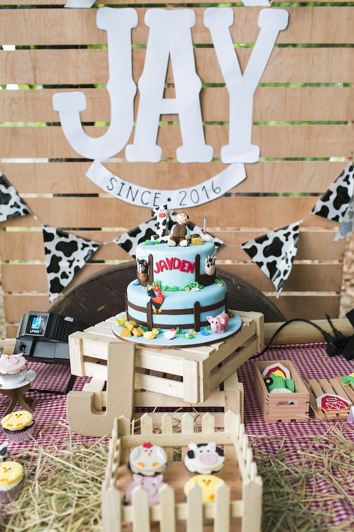 Farm Birthday Party on Kara's Party Ideas | KarasPartyIdeas.com (31)