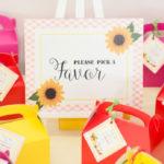 Floral Farmer's Market Birthday Party on Kara's Party Ideas | KarasPartyIdeas.com (4)