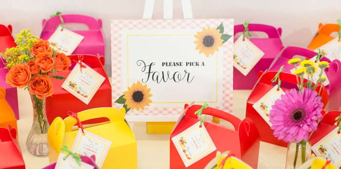 Floral Farmer's Market Birthday Party on Kara's Party Ideas | KarasPartyIdeas.com (4)