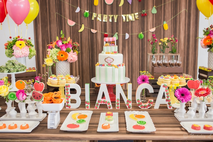 Floral Farmer's Market Birthday Party on Kara's Party Ideas | KarasPartyIdeas.com (24)