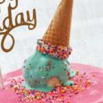 Girly Ice Cream Birthday Party on Kara's Party Ideas | KarasPartyIdeas.com (1)