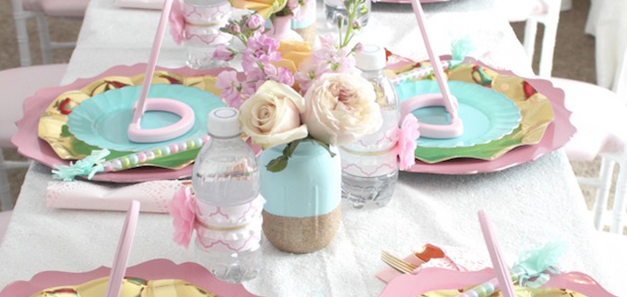 Glam Spa Retreat Birthday Party on Kara's Party Ideas | KarasPartyIdeas.com (1)