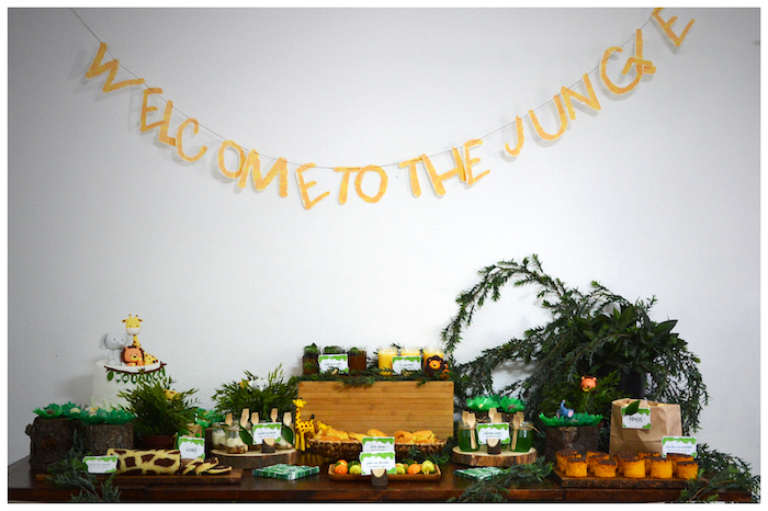 Jungle Animal Birthday Party on Kara's Party Ideas | KarasPartyIdeas.com (15)