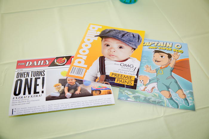 Custom stationery + party signage from a Little Town 1st Birthday Party on Kara's Party Ideas | KarasPartyIdeas.com (15)