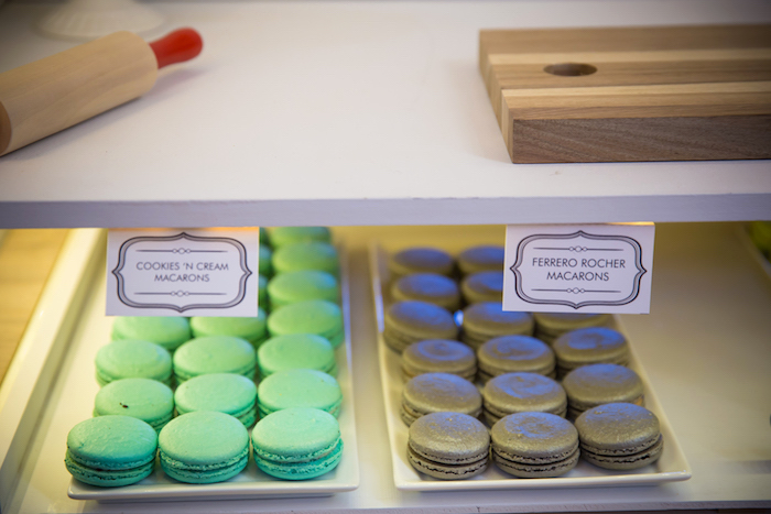 Macarons from a Little Town 1st Birthday Party on Kara's Party Ideas | KarasPartyIdeas.com (11)