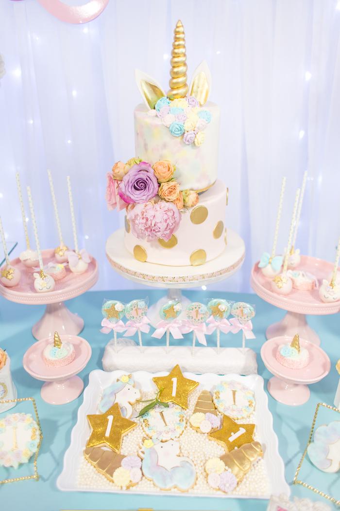 Kara S Party Ideas Mystical And Magical Unicorn Birthday
