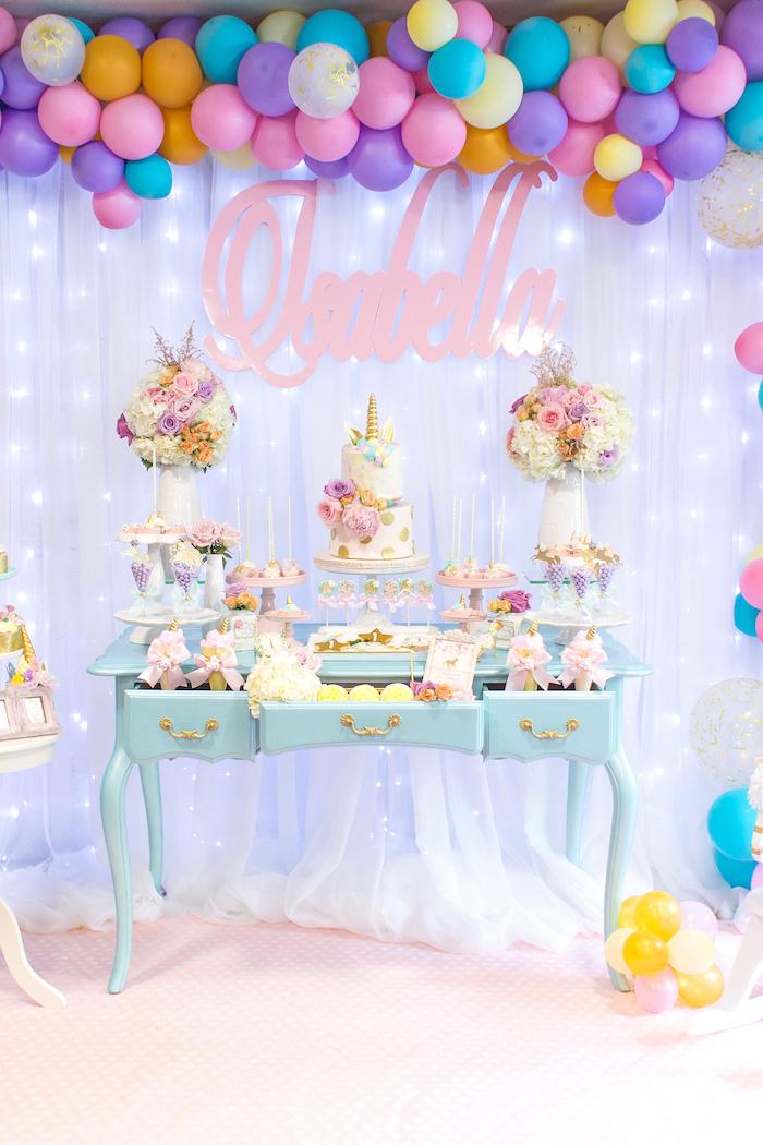 Kara's Party Ideas Mystical and Magical Unicorn Birthday ...