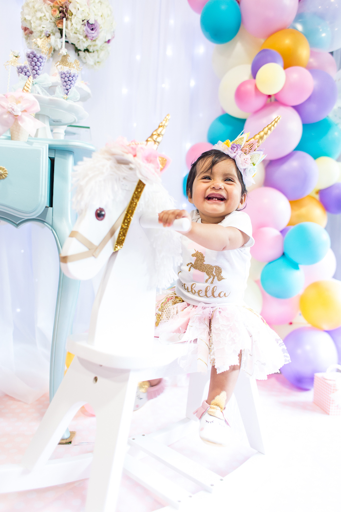 Magical Unicorn Birthday Party on Kara's Party Ideas | KarasPartyIdeas.com (3)