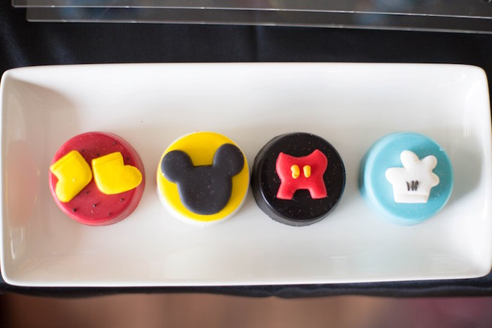 Chocolate Covered Oreos from a Mickey Mouse Clubhouse Birthday Party on Kara's Party Ideas | KarasPartyIdeas.com (19)