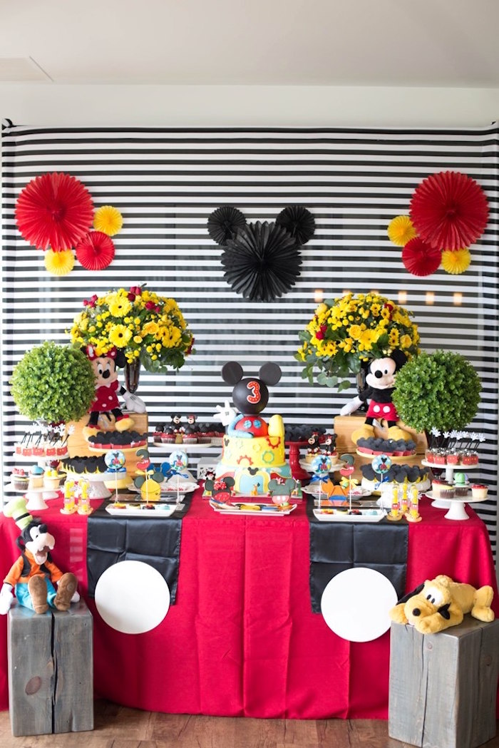 Mickey Mouse Clubhouse Birthday Party On Karas Ideas