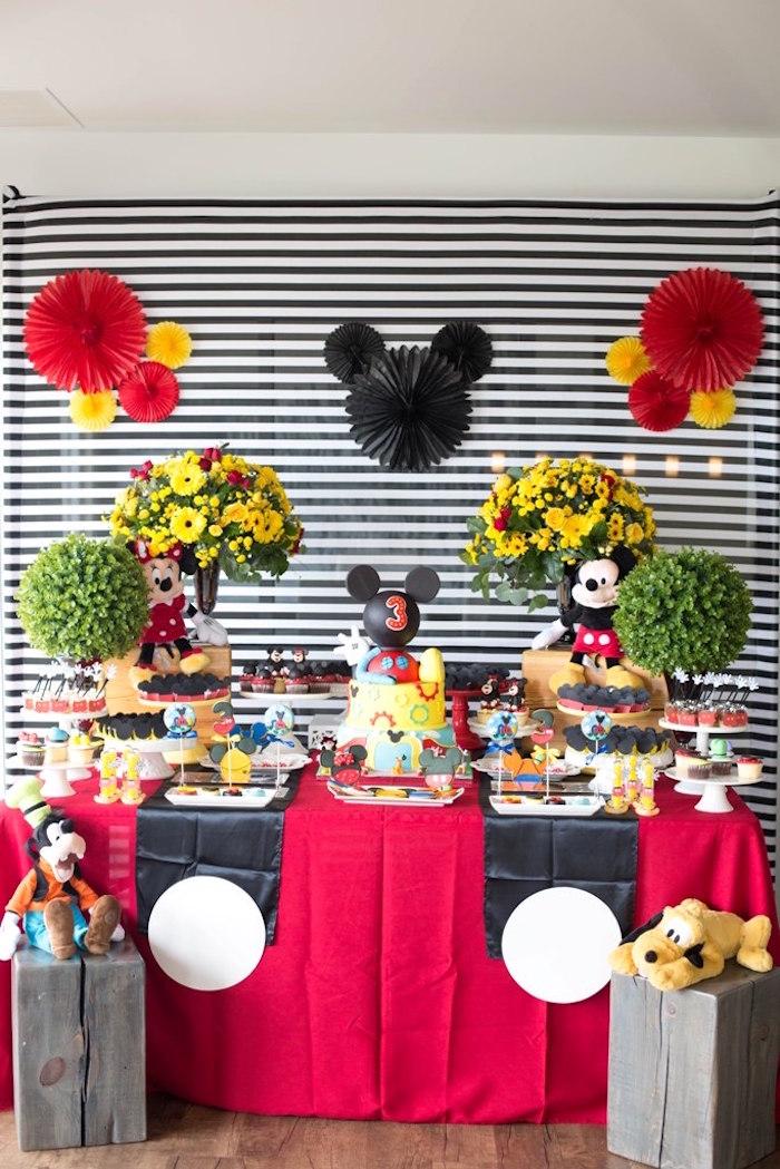 Mickey Mouse Clubhouse Birthday Party on Kara's Party Ideas | KarasPartyIdeas.com (24)
