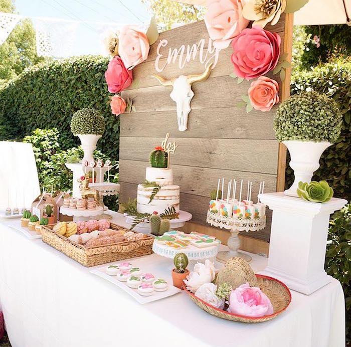 Rustic Mexican Wedding Theme: Kara's Party Ideas Modern Mexican Fiesta