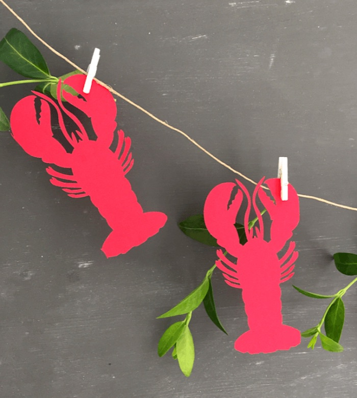 Lobster banner from a Nautical Lobster Summer Party on Kara's Party Ideas | KarasPartyIdeas.com (19)