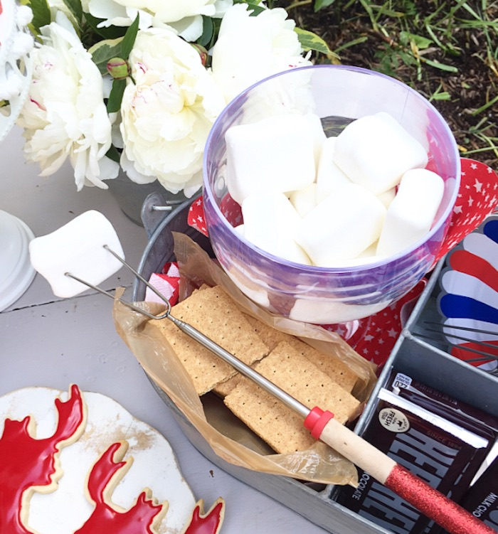 S'more tin from a Nautical Lobster Summer Party on Kara's Party Ideas | KarasPartyIdeas.com (13)