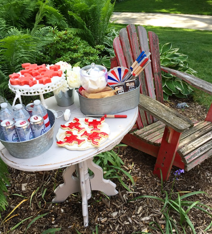 Party table from a Nautical Lobster Summer Party on Kara's Party Ideas | KarasPartyIdeas.com (11)
